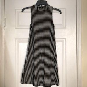 Love Fire - black & white short dress